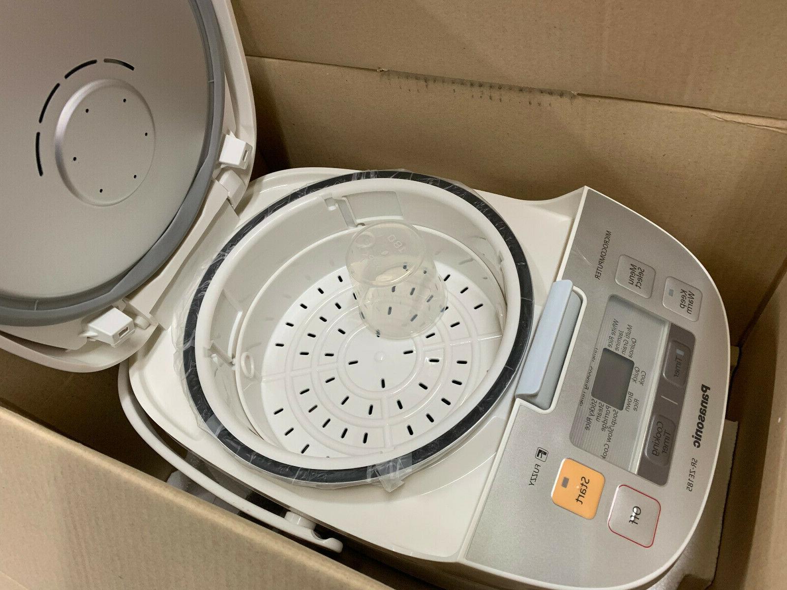 Panasonic SR-ZE185 10 Micom Cups cooked new