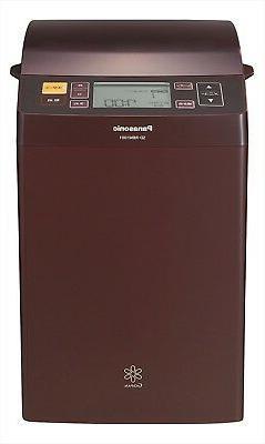 Panasonic New Gopan Rice Bread Cooker Brown SD-RBM1001-T