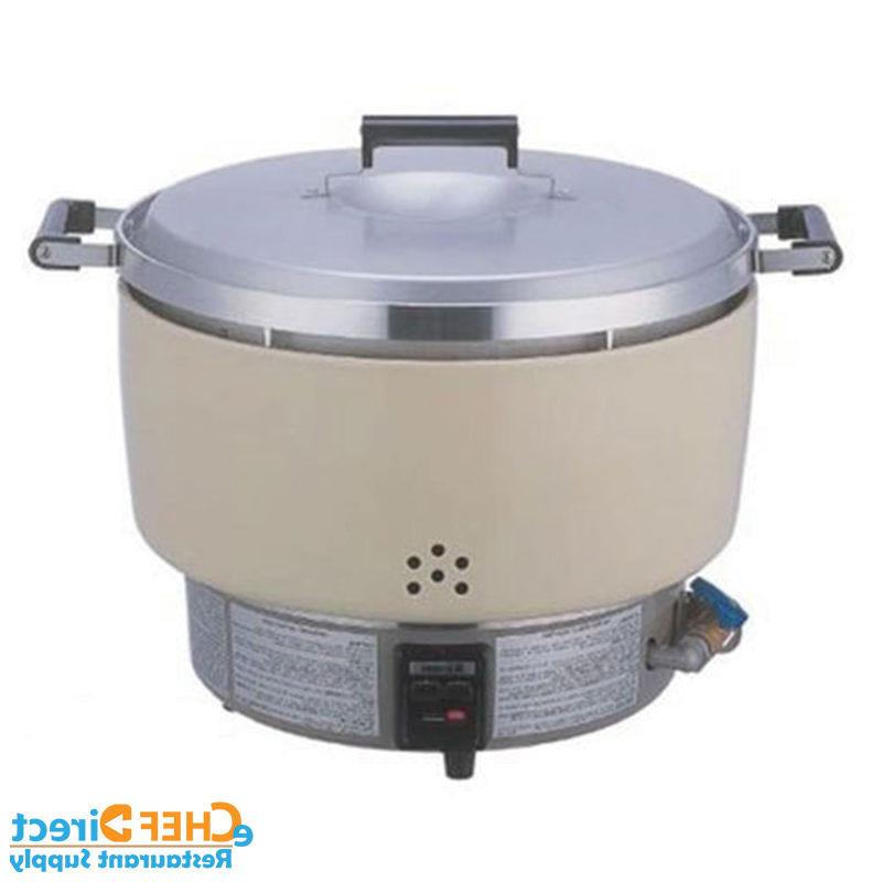 New Rinnai Natural Gas Rice Cooker 55 Cups RER55ASN NSF - MA