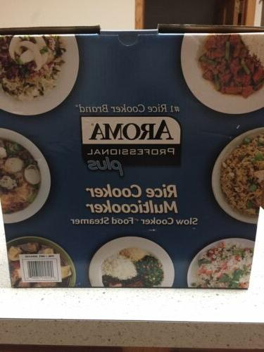 NEW Aroma Professional Plus Rice Cooker Slow Cooker