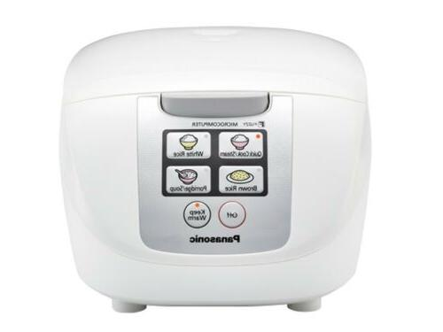 New Panasonic SR-DF181 10-Cup Micro Fuzzy Logic Rice Cooker/