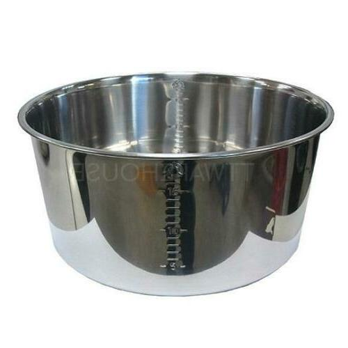 NEW TATUNG Stainless Steel Inner Pot For 10 / 11 CUP Rice Co