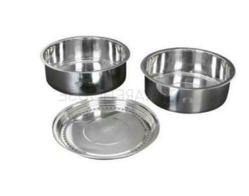 NEW TATUNG TAC-S02 Stainless Steel Steamer Set For 10 ~ 11 C