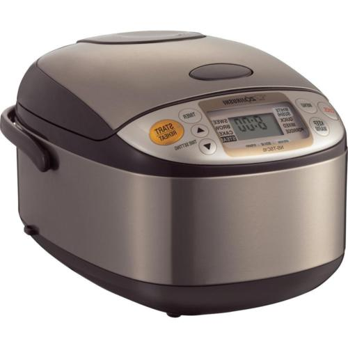 Zojirushi NS-TSC10 5-1/2-Cup Uncooked Micom Rice Cooker and