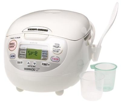 Zojirushi NS-ZCC10 5-1/2-Cup Uncooked Neuro Fuzzy Rice Cooke