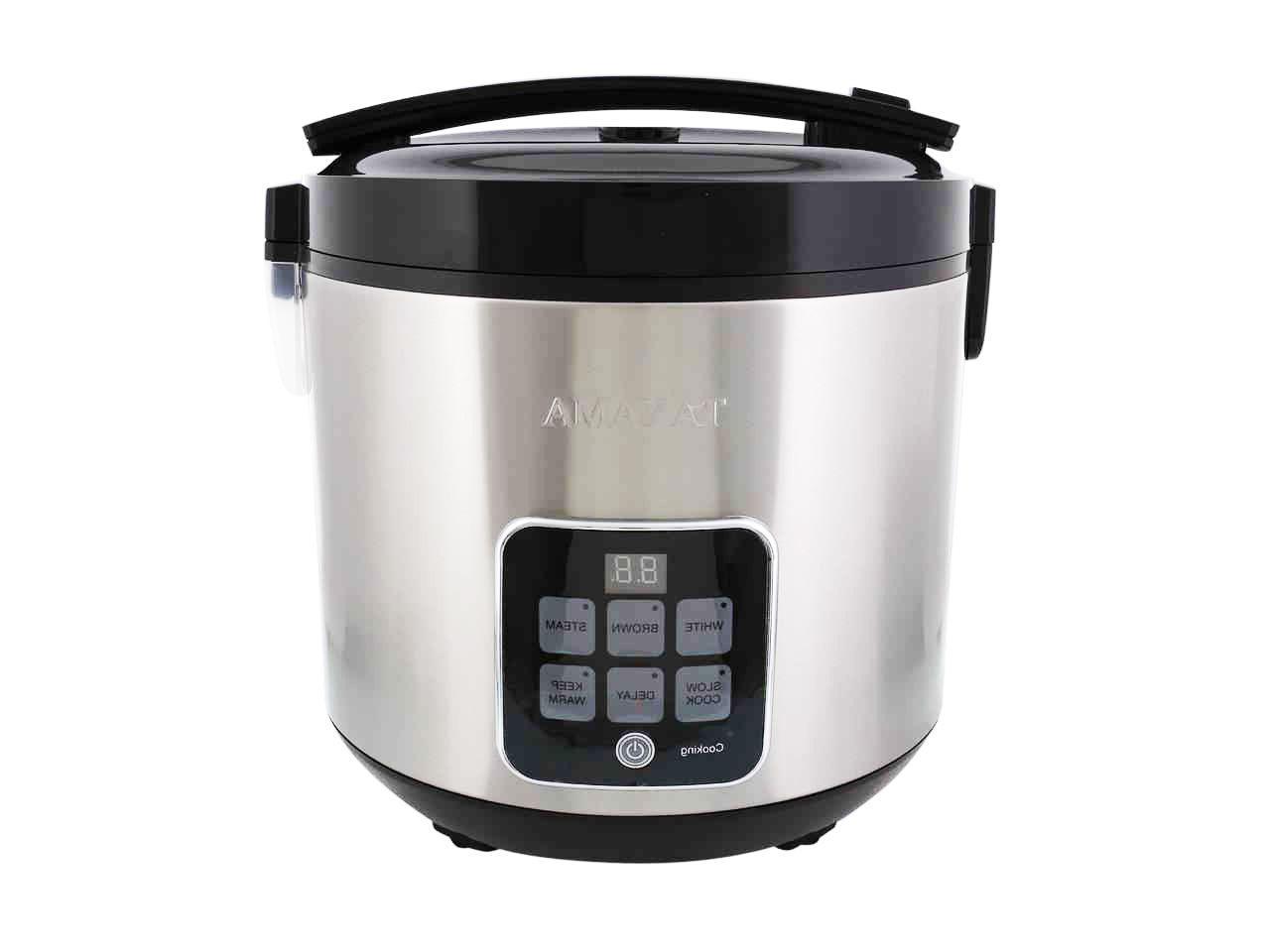 **OPEN TRC-50H1Digital Cooker 10 Cup Black
