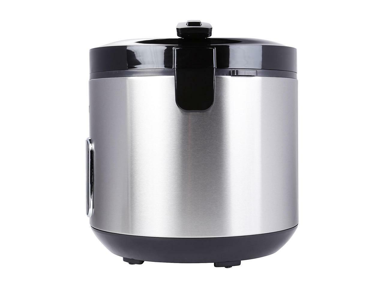 **OPEN BOX**Tayama Cooker Food Steamer 10 Cup in Black