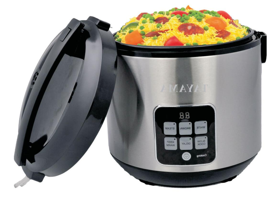 **OPEN Cooker & Food 10 Cup in Black