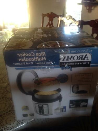 Aroma Professional Plus Rice Cooker Cooked Rice