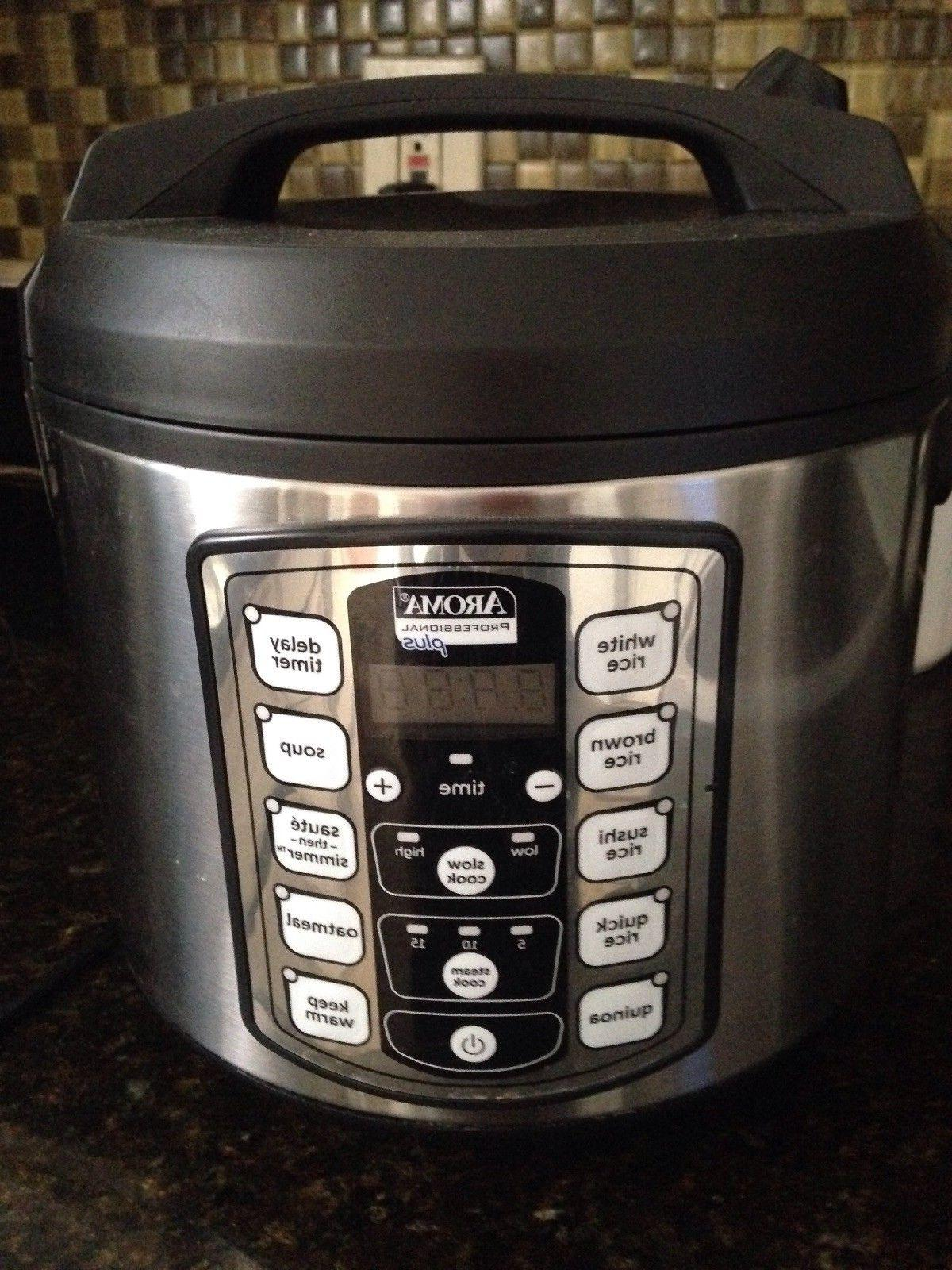 Aroma Plus Cooker Cooked