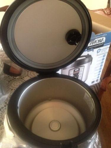 Aroma Cooker Multicooker Cooked