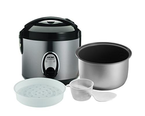 Aroma Pot-Style Rice Cooker Silver ea