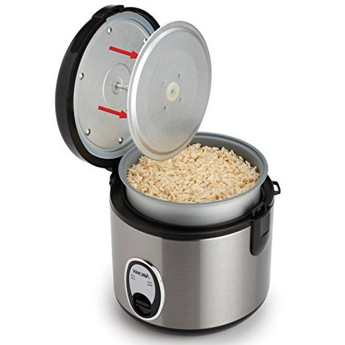 Aroma Pot-Style Rice and Silver Black, 1 ea