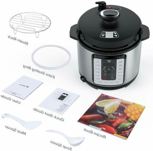 Pot Ultra 10-in-1 Electric Pressure Cooker - 6Qt rice cooker