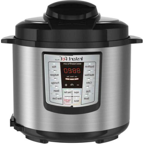 Pressure Cooker, Slow Cooker, Rice Cooker, Steamer, Instant