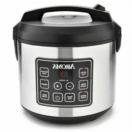 programmable digital rice grain cooker 20 cup