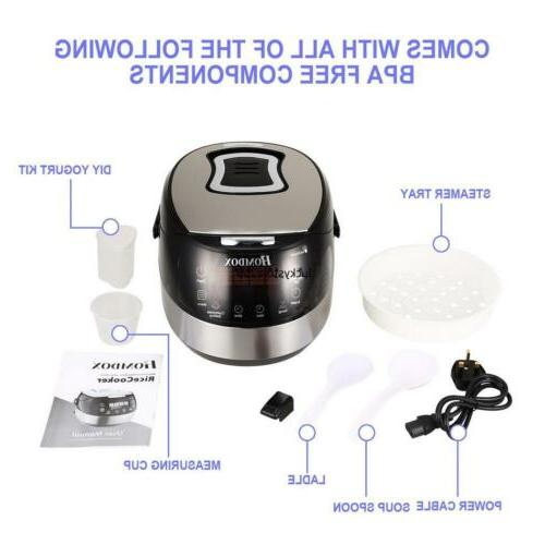 Programmable Electric Rice Stainless Automatic Slow