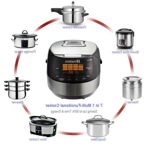 Programmable Electric Rice Stainless Steel Automatic