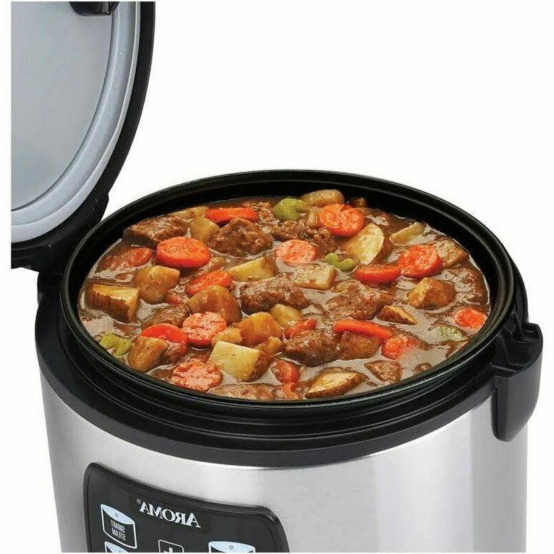Aroma Programmable Multicooker Cooker