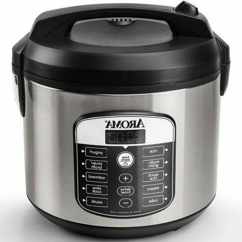 Aroma Programmable Rice Cooker