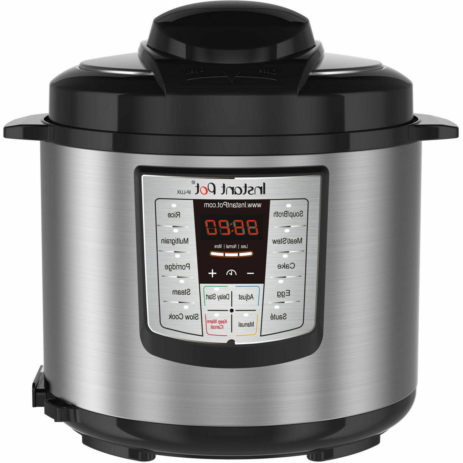 Programmable Pressure Slow Cooker 6 Qt 6-in-1 Multi-Use Rice