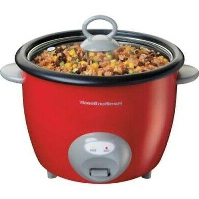 red rice cooker food steamer
