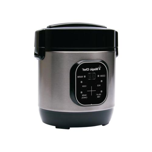 Rice 3-Cup Steel Pot Food