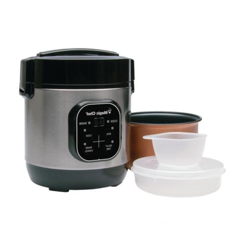 Rice Cooker Steel Cooking Pot Food Steamer Include
