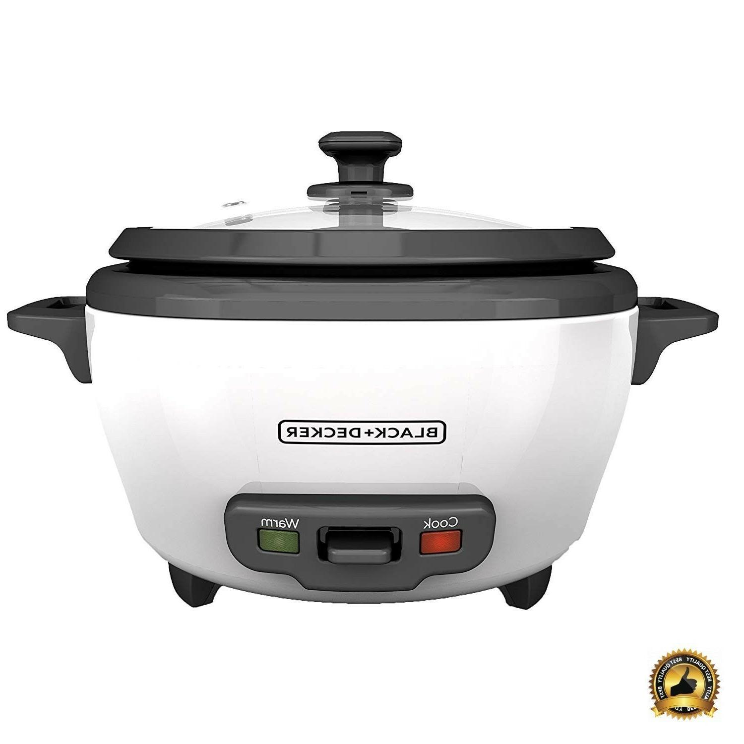 rice cooker 6 cup food steamer pot
