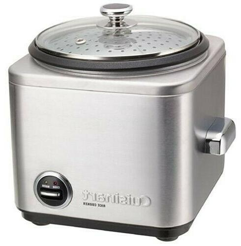 rice cooker 8 cup silver