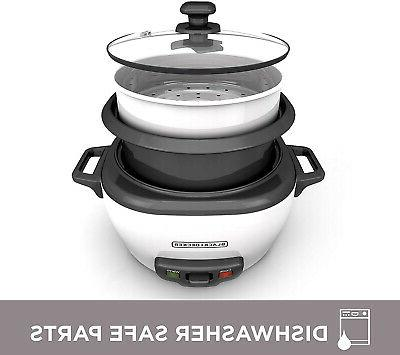 Rice Steamer 6-Cup Cooked Warm Kitchen Food Appliances Chef