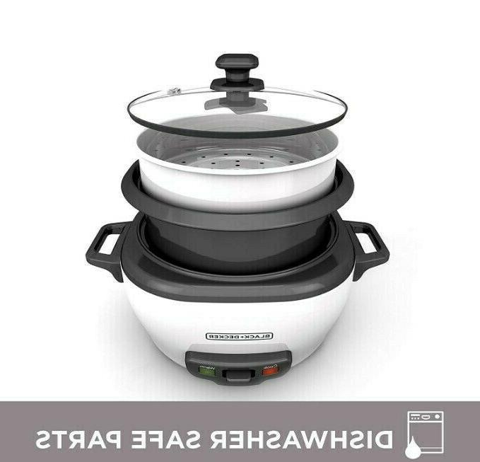 Rice And Steamer Steam Cooking Pot 6 WHITE