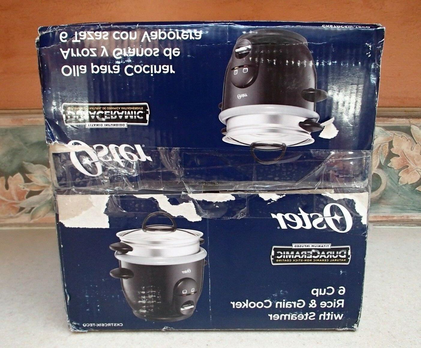 OSTER Rice Food Steamer Kitchen 6 - NIB,RV$35