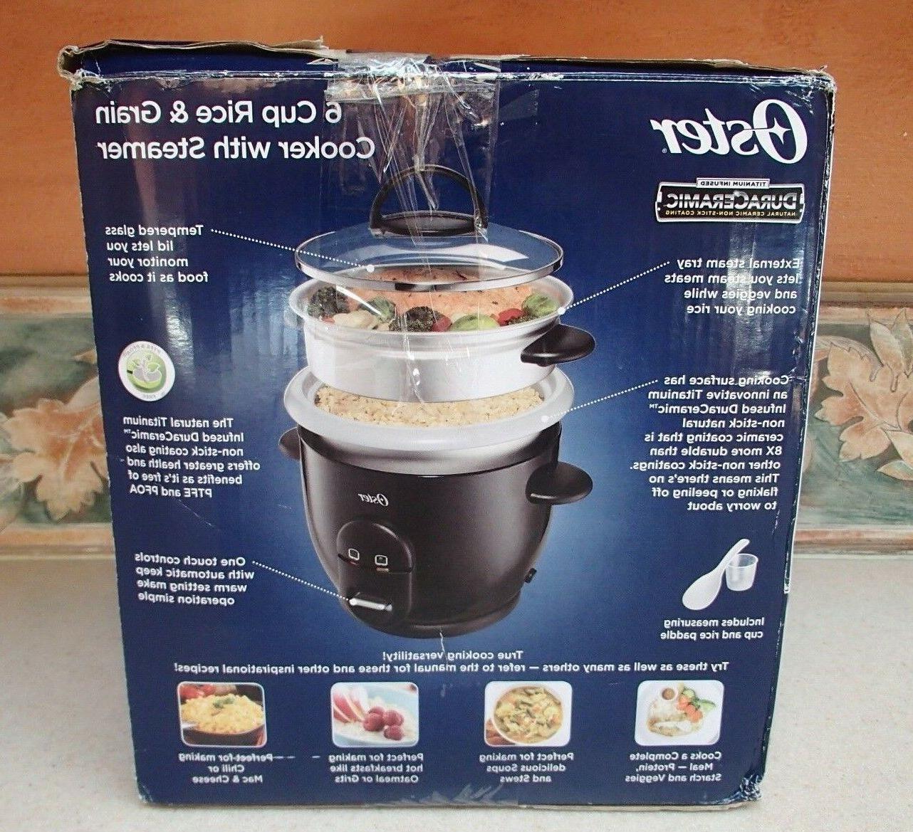 OSTER Rice Food Steamer Vegetables Kitchen 6 - NIB,RV$35