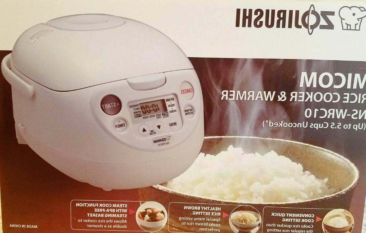 ZOJIRUSHI Rice Cooker and Warmer 5.5 cups