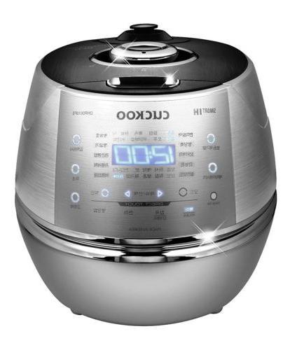 CUCKOO Rice Cooker DHR0610FS Electric Pressure 6CUP KOREAN V