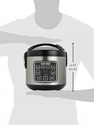 Aroma Housewares Cooker Digital ARC-914SBD 2-8-Cups