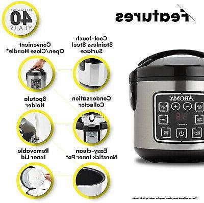 Aroma Housewares Rice Digital ARC-914SBD
