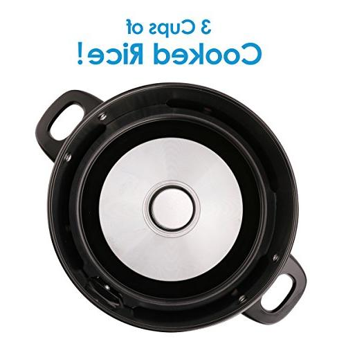 Midea 3-Cup Rice with Steamer