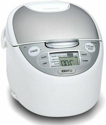 TIGER Rice cooker JAX-S18A WZ 10 Cup AC240V Made in Japan EM