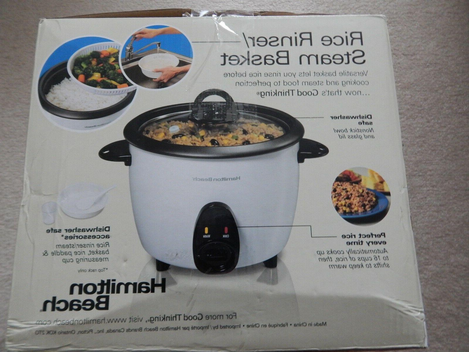 HAMILTON BEACH RICE STEAMER NEW