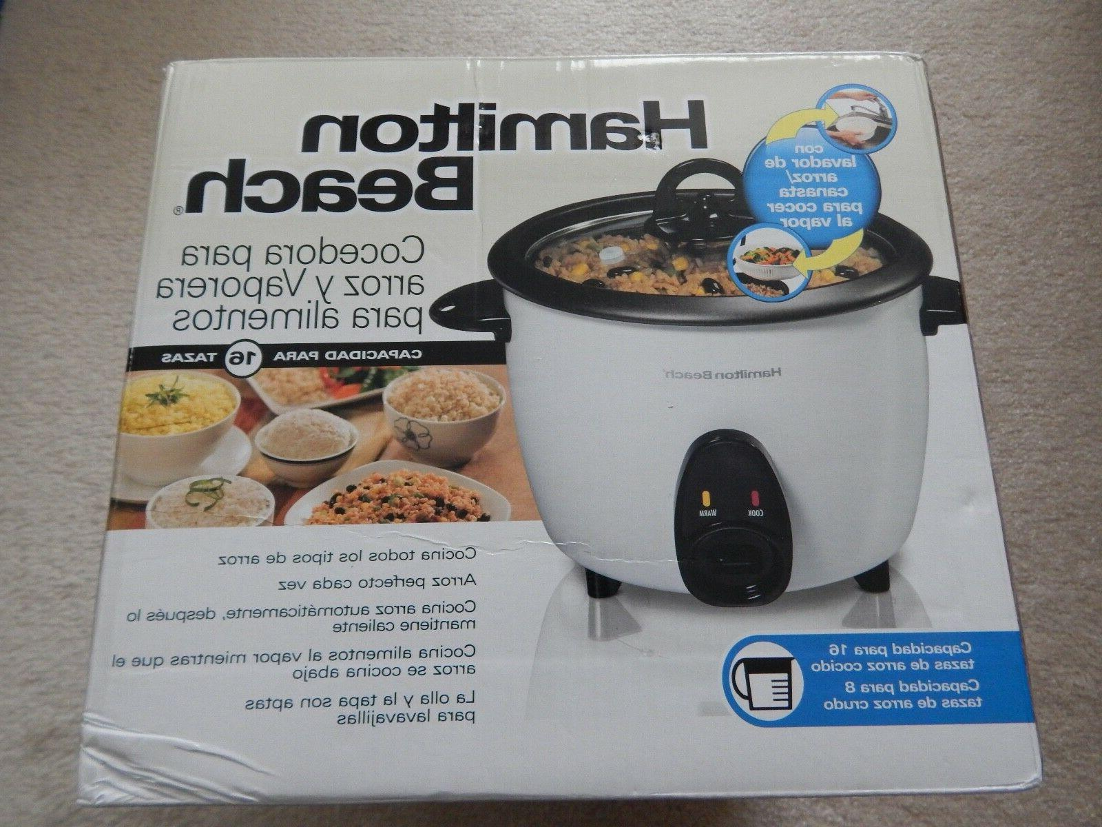 rice cooker steamer new in box 16