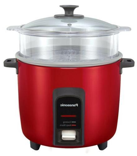 PANASONIC Rice Cooker/Steamer SR-Y22FGJ Burgundy