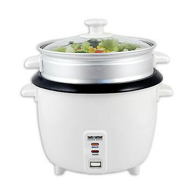 rice cooker with food steamer