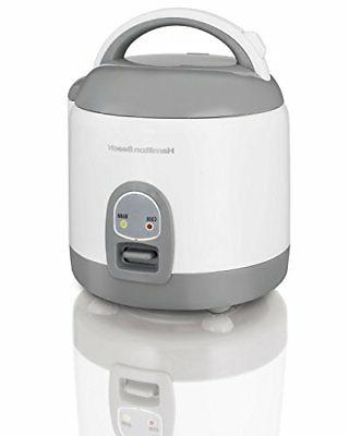 Indoor Home Kitchen Hamilton Beach Mini Rice Cooker w/ Rinse