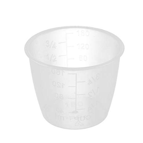 CHICTRY Rice Measuring Clear Plastic Cooker Replacement Supplies and Pack One