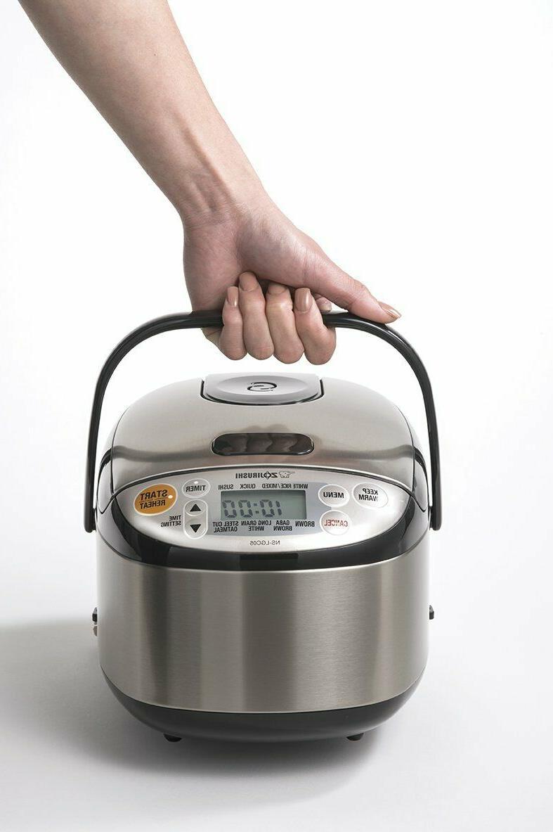 Zojirushi NS-LGC05XB Cooker & Stainless Black