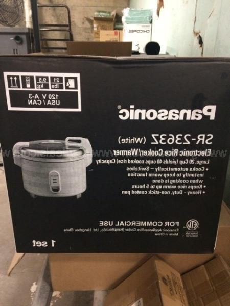 Panasonic Cup Rice / New In The Box