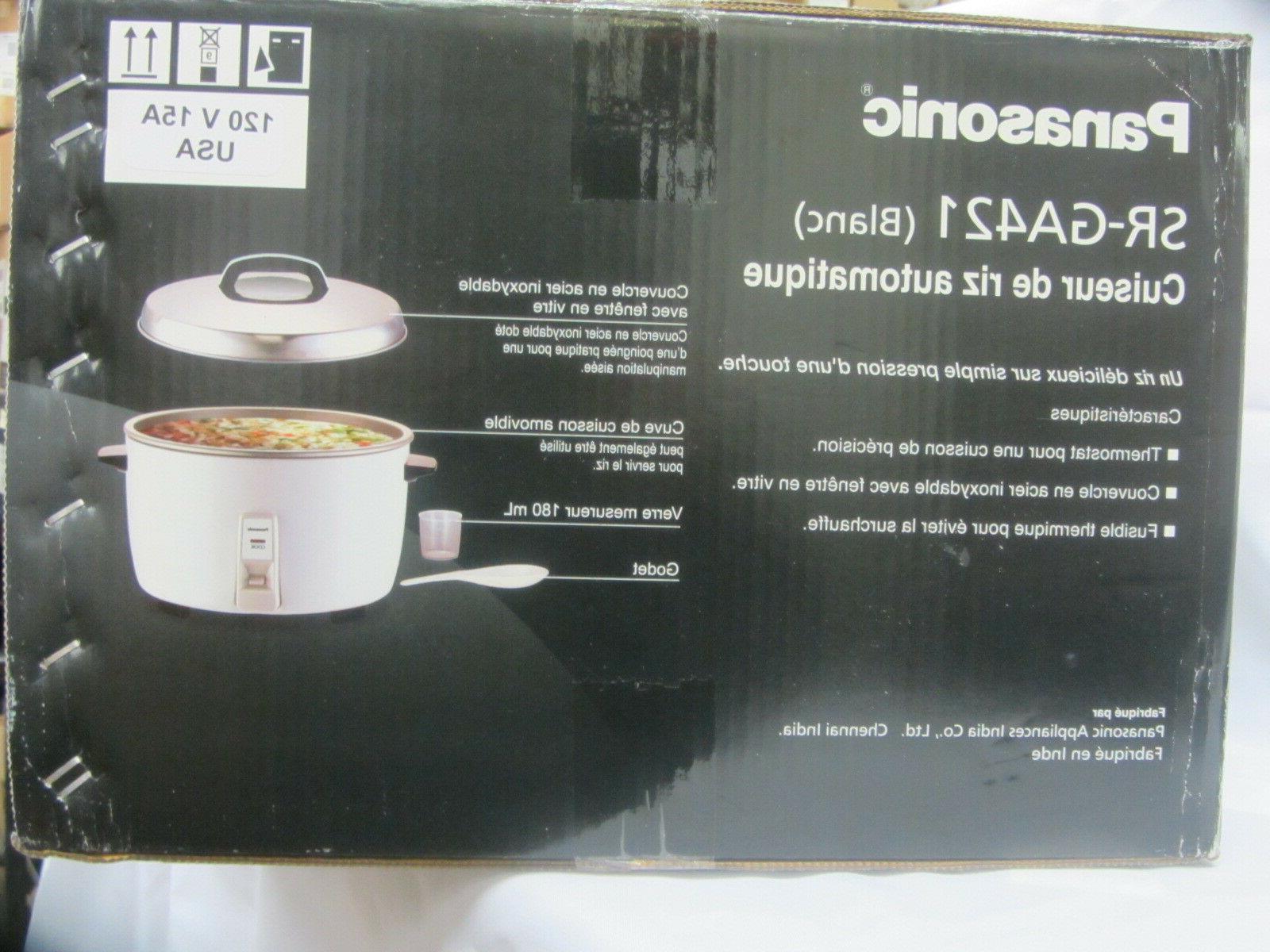 Commercial Cooker White Brand New
