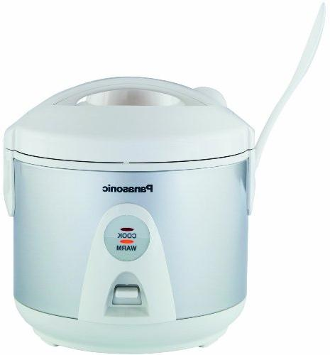 Panasonic 10-Cup Rice Cooker/Warmer/Steamer with
